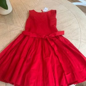 NWT Beautiful Crewcuts red party dress (sz 8)